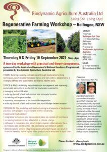 Regenerative Farming Flyer